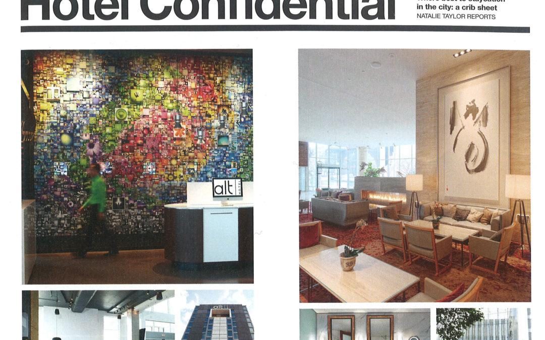 Design Lines: Hotel Confidential